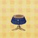 dry-denim skirt