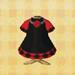 black-velvet dress