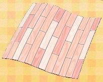 pink wood floor