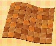 terra-cotta floor