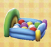 balloon bed