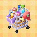 beauty salon cart