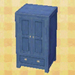 blue cabinet