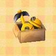 box with helmet