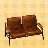 brown seat