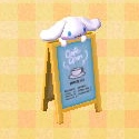 Cinnamoroll sign
