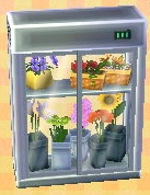flower display case