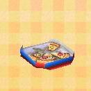 half-eaten pizza
