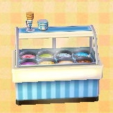 ice-cream display