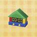 kiddie wall clock