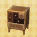 modern wood chest