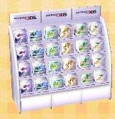 Nintendo 3DS shelf