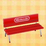 Nintendo bench