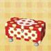 polka-dot dresser