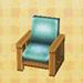 ranch armchair