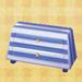 stripe dresser