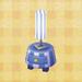 stripe lamp