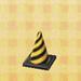 striped cone