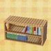sweets bookcase
