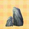 tall garden rock