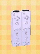 Wii remote cabinet