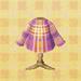 pink tartan shirt