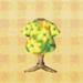 yellow aloha tee