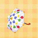 fruit-panel umbrella